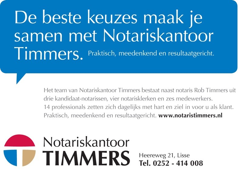 Timmers zonder postbus